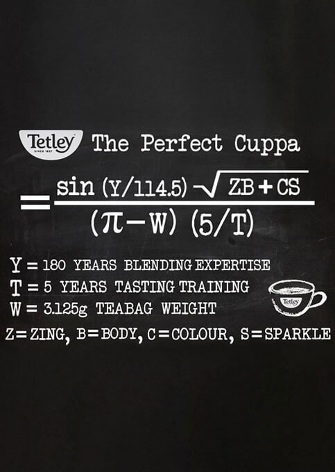 Perfect Cuppa Equation
