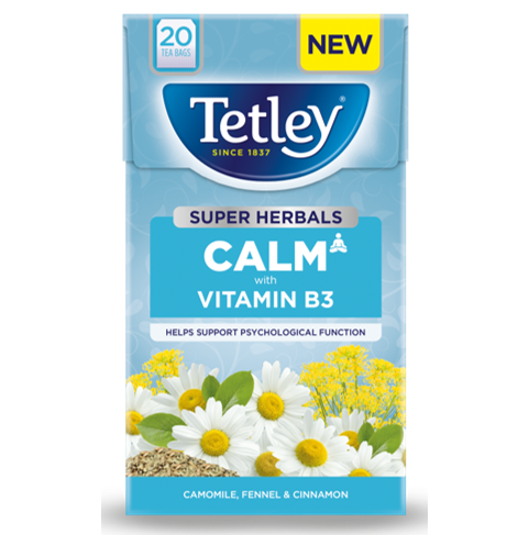 Tetley Super Herbals Calm Camomile, Fennel and Cinnamon