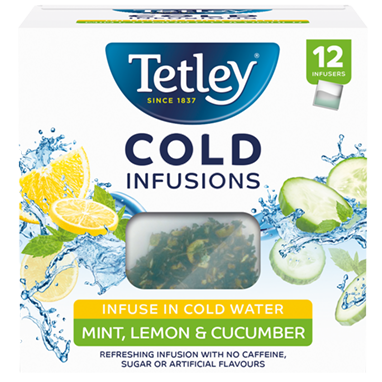Tetley Cold Infusions Mint, Lemon and Cucumber
