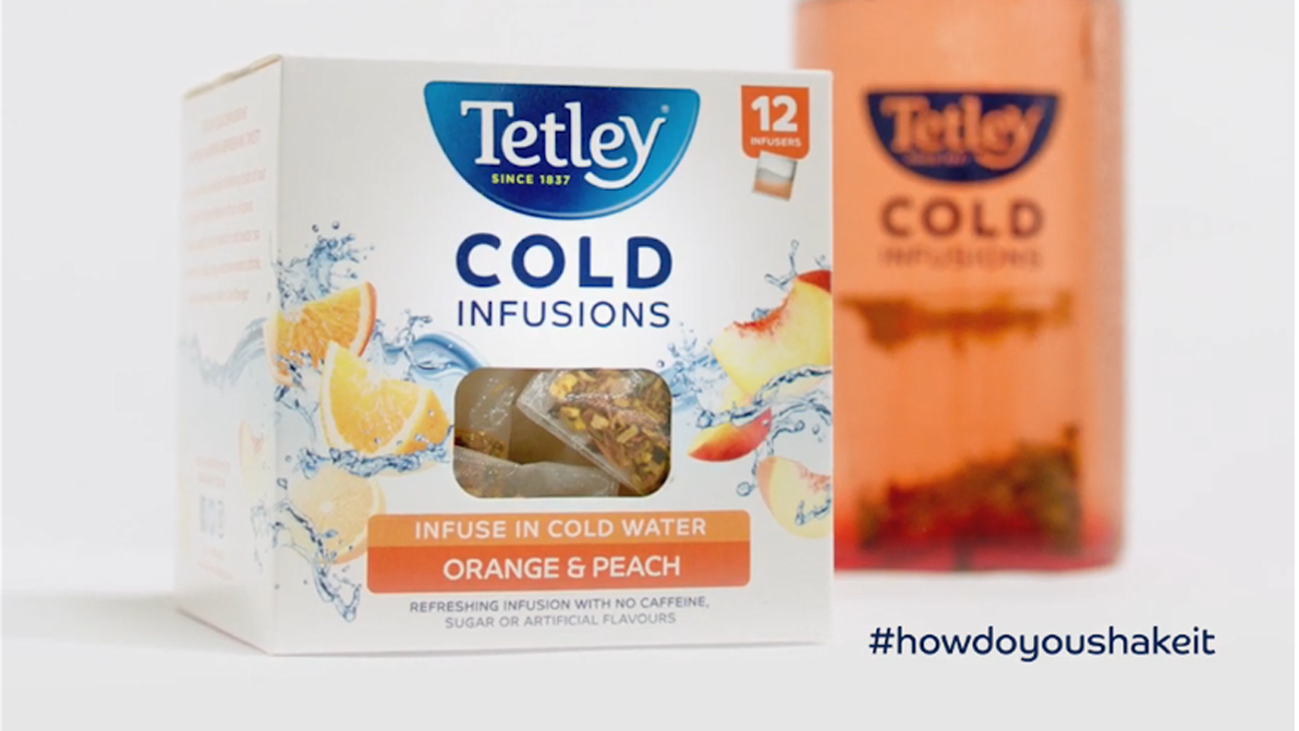 Tetley Cold Infusions - Orange & Peach