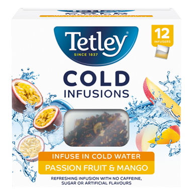 Tetley Cold Infusions Passionfruit and Mango