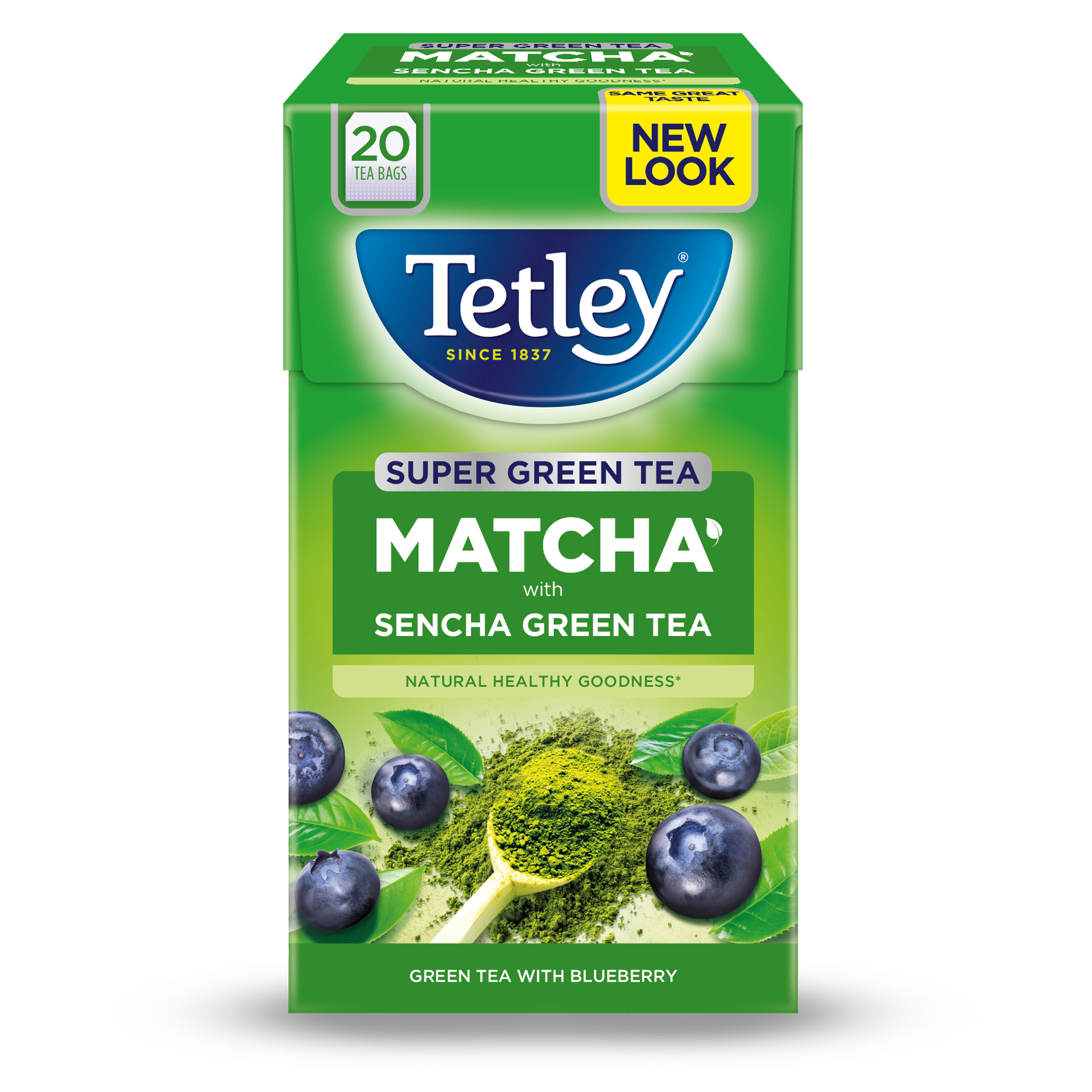 Super Green Matcha with Blueberry