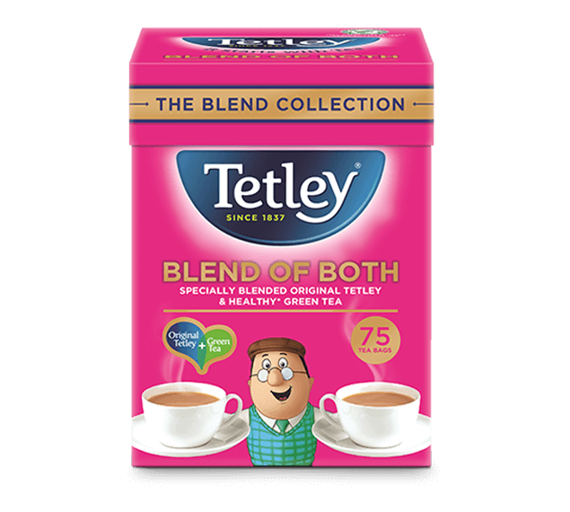 Tetley Blend of Both Green and Original Tea