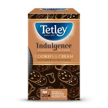 Tetley Cookies & Cream Flavoured Black Tea