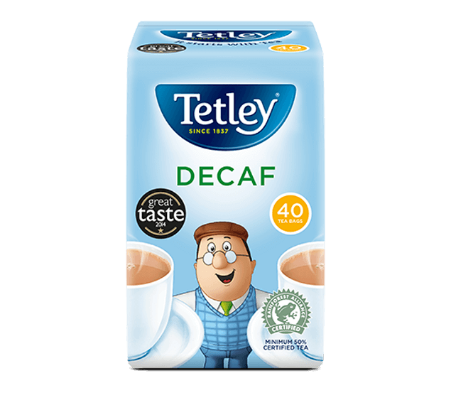 Tetley Decaf Original Tea