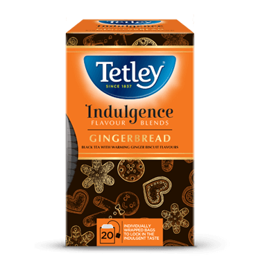 Tetley Gingerbread Flavoured Black Tea