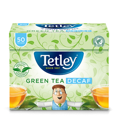 Tetley Green Tea Decaf Pure
