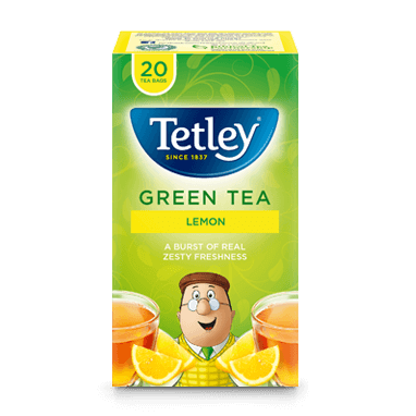 Tetley Green Tea Lemon