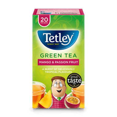 Tetley Green Tea Mango & Passion Fruit
