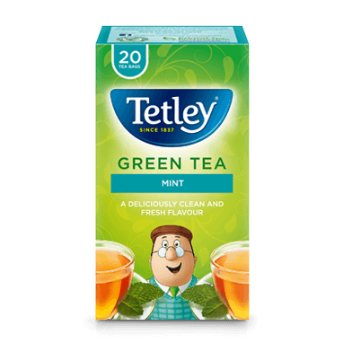 Tetley Green Tea Mint