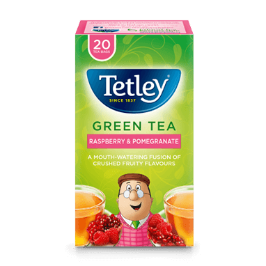 Tetley Green Tea Raspberry & Pomegranate