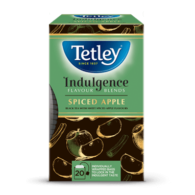 Tetley Spiced Apple Flavoured Black Tea