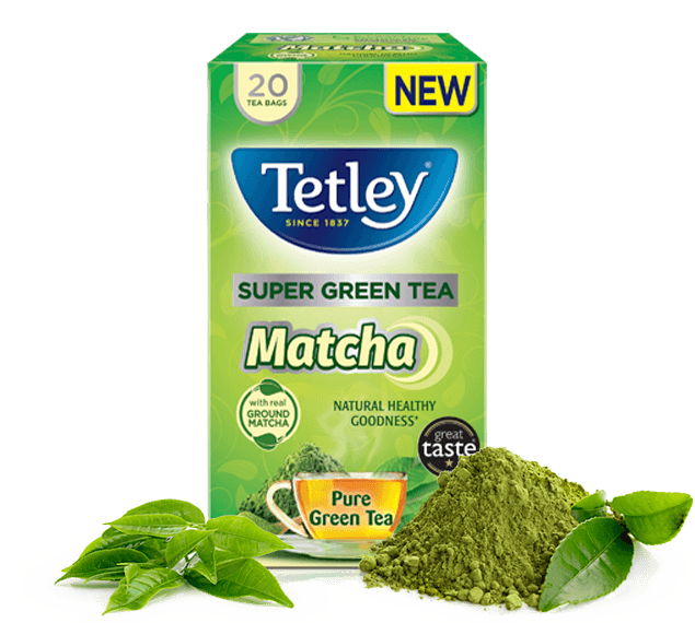 Tetley Super Green Tea Matcha