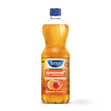 Tetley Super Squash Sunshine Orange and Peach